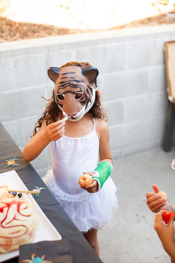 tiger ballerina costume