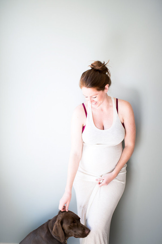 natural light maternity photos
