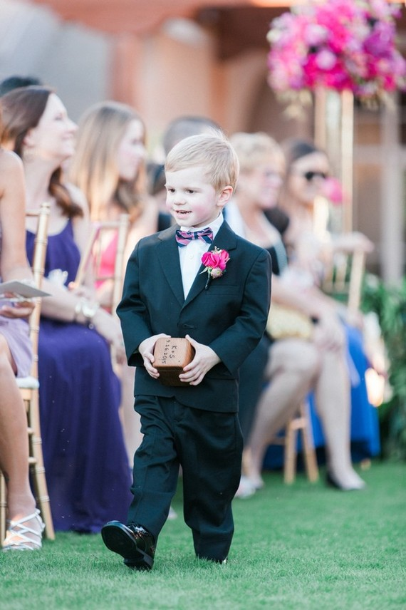 Ring bearer portrait