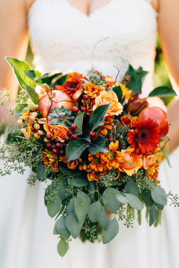 fall wedding bouquets rustic vintage fall wedding inspiration oregon wedding 4020