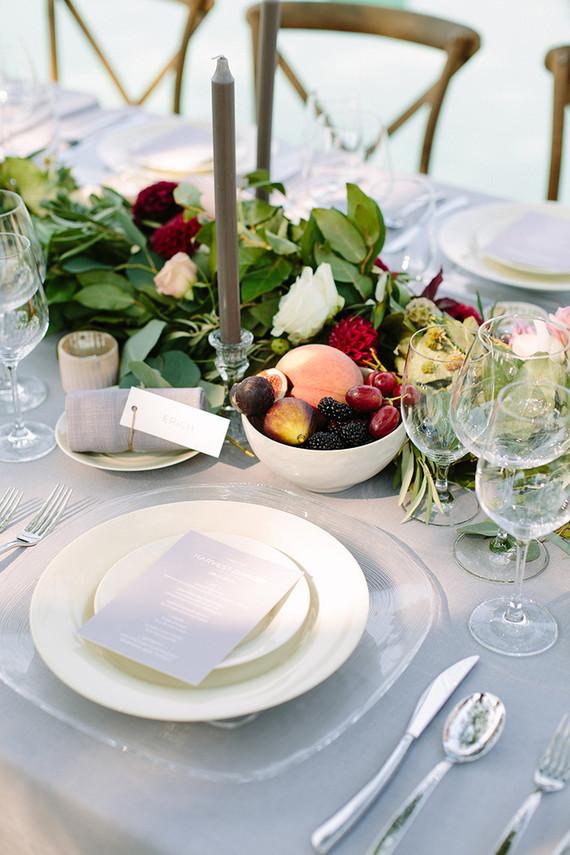 Harvest dinner party