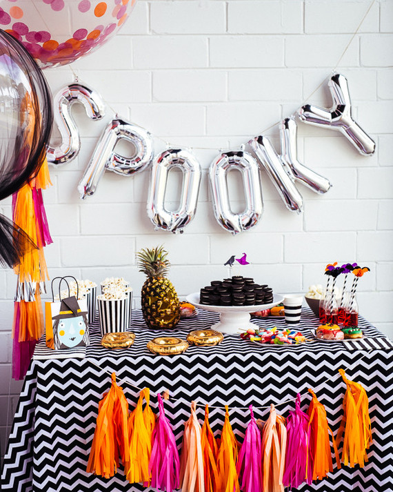 Halloween Themed Birthday Party For Toddler.Modern Kids Halloween Party From Australia Holidays Entertaining