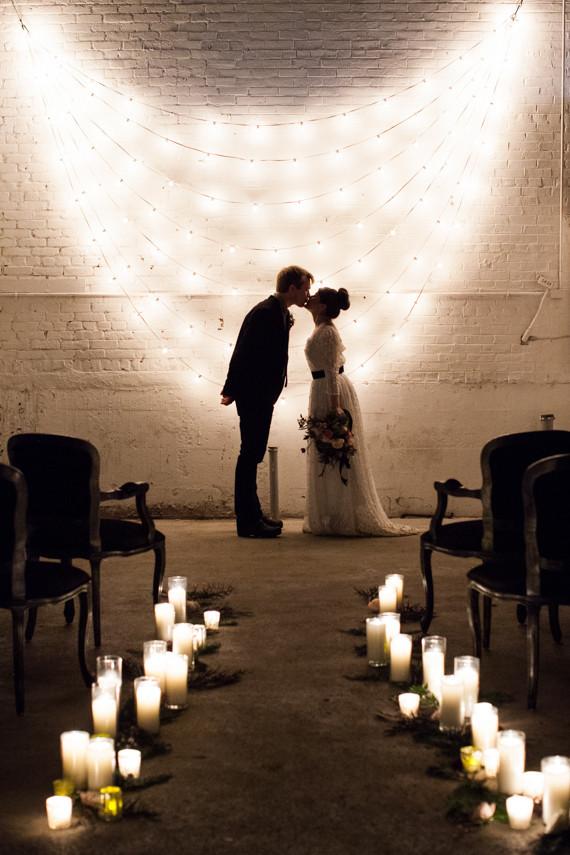 String light backdrop