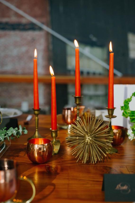 Retro candles
