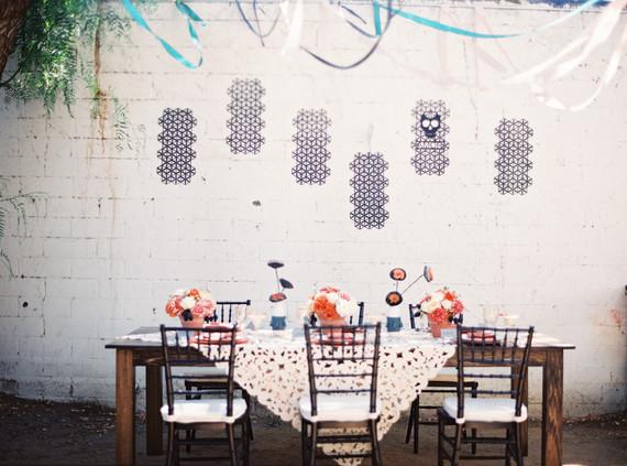 Dia de Los Muertos wedding tablescape