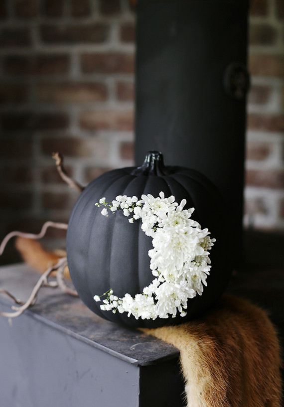 Floral pumpkin