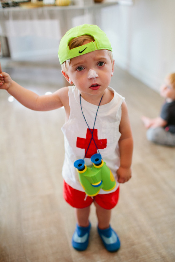 lifeguard toddler costume