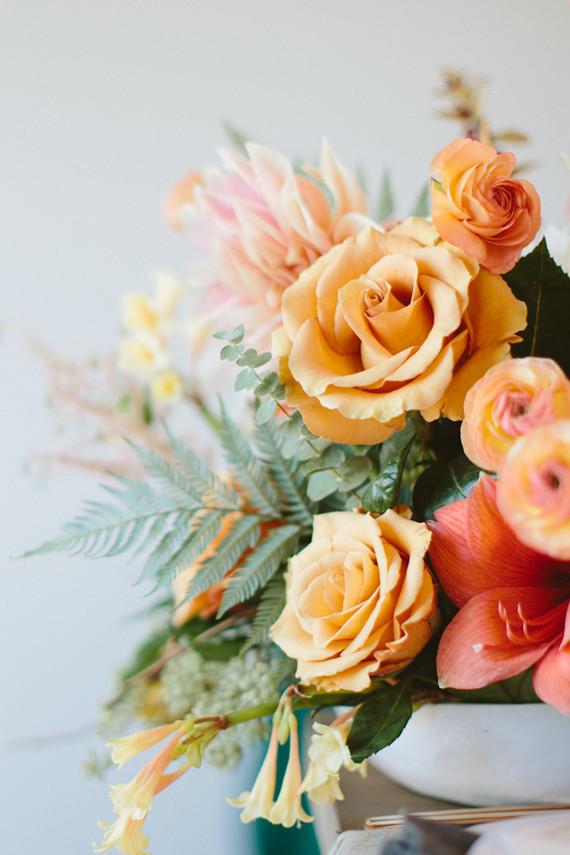Bright fall florals