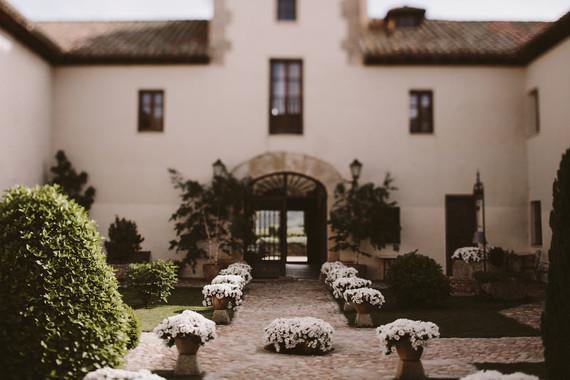 Romantic Spanish countryside wedding venue