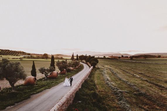 Romantic Spanish countryside portrait