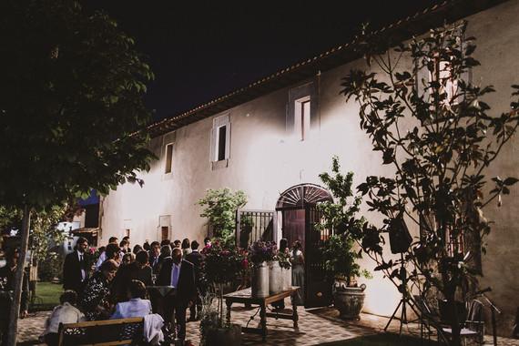 Romantic Spanish wedding venue