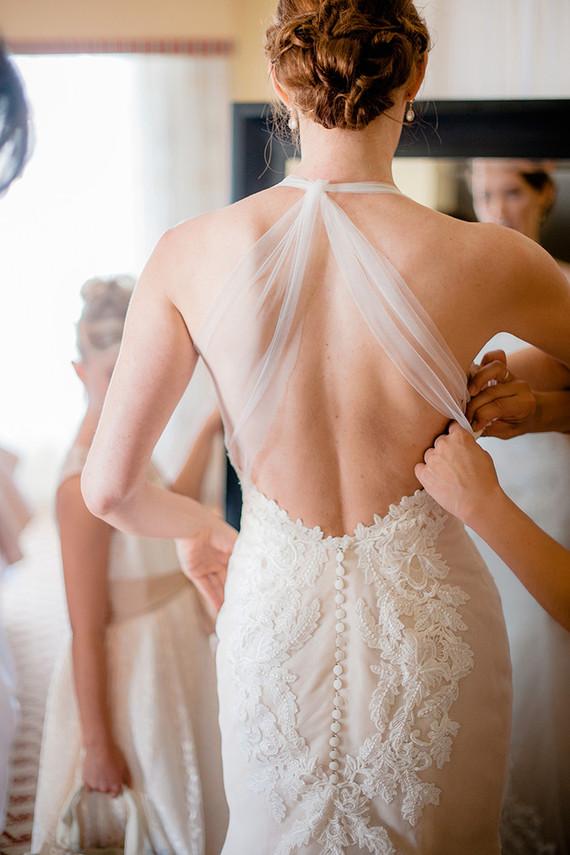 Inez di Santo wedding dress