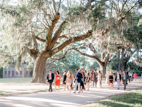 Outdoor Charleston wedding