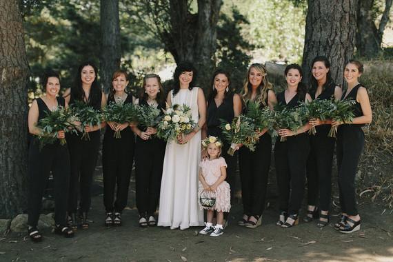 Black bridesmaid jumpers