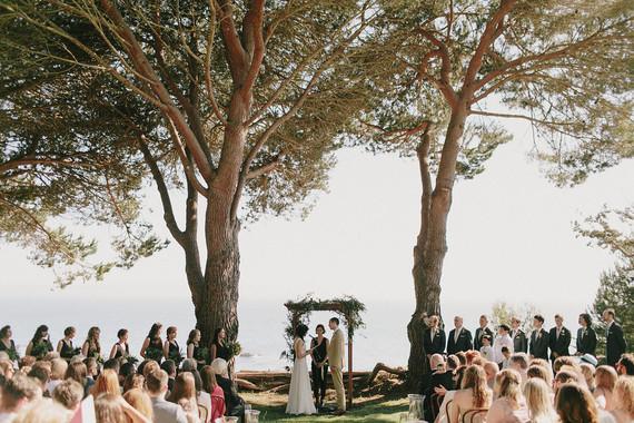 Rustic modern Big Sur wedding