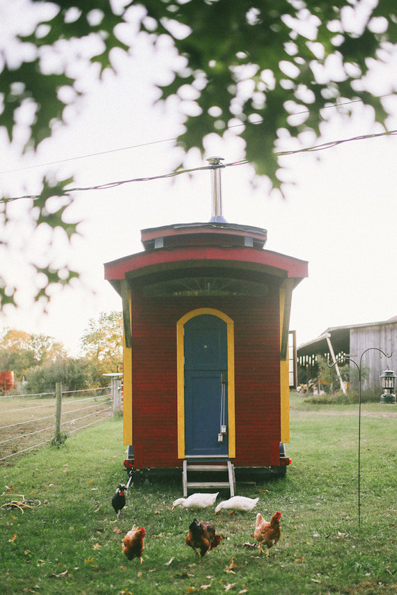 Tiny House on a farm