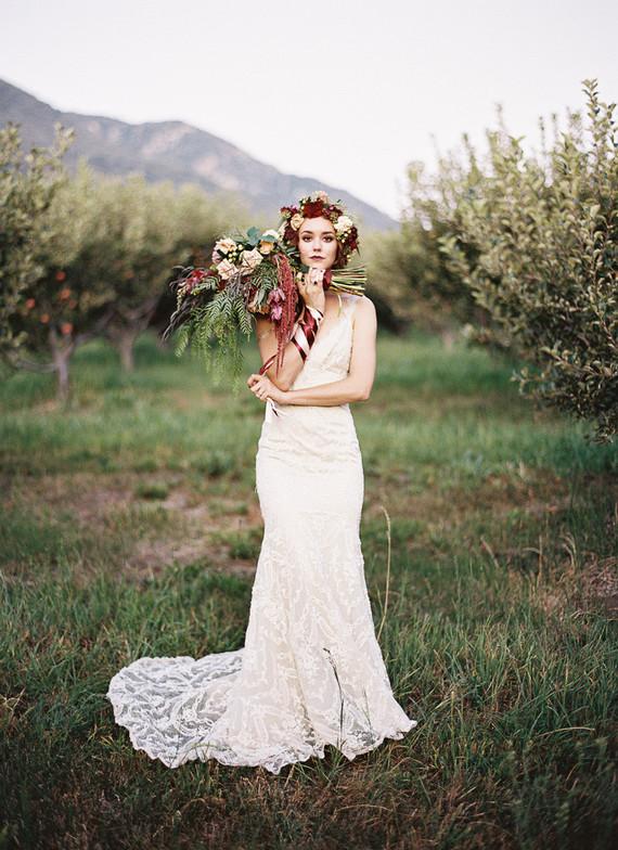 6760a7beff10 Fall bohemian wedding inspiration. Categories Wedding Inspiration · Bridal  portrait