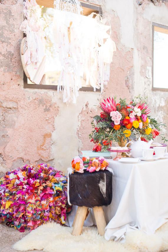 bright modern florals