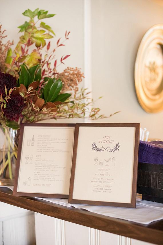 Fakk cocktail menu