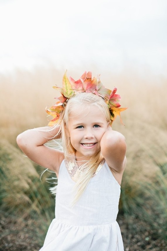 Fall kids portraits