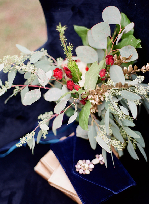 Vintage winter wedding inspiration