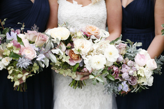Elegant bridal bouquet