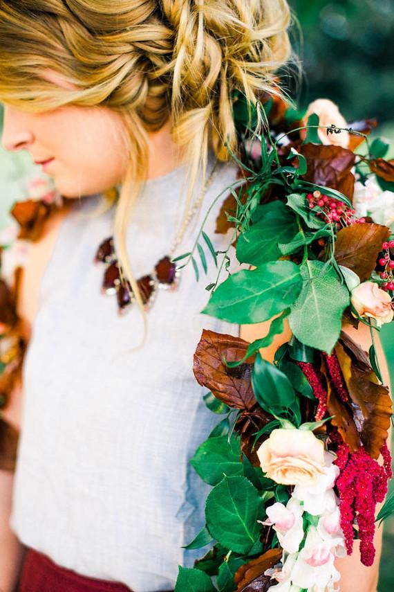 Autumn garland