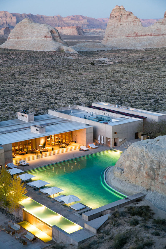 Amangiri Resort In Utah 100 Layer Cake
