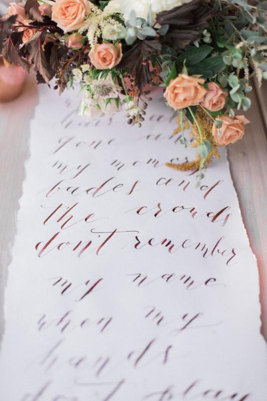 Calligraphy Runner
