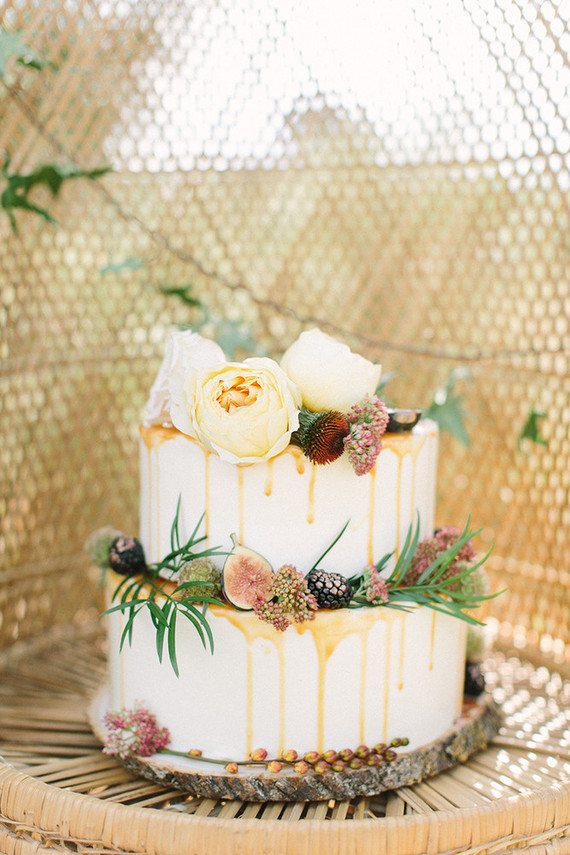 Buttercup Bakery wedding cake