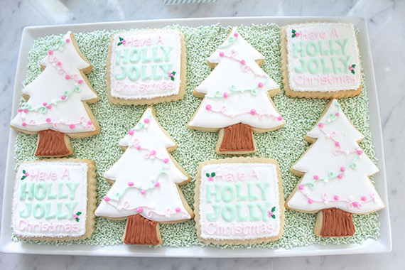 Christmas cookie decorating party