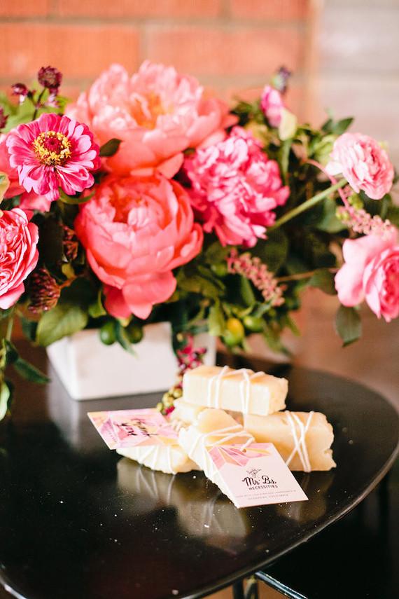 Peony floral arrangements