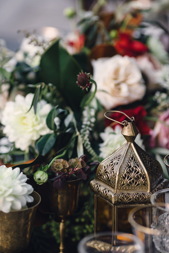 Moroccan themed wedding