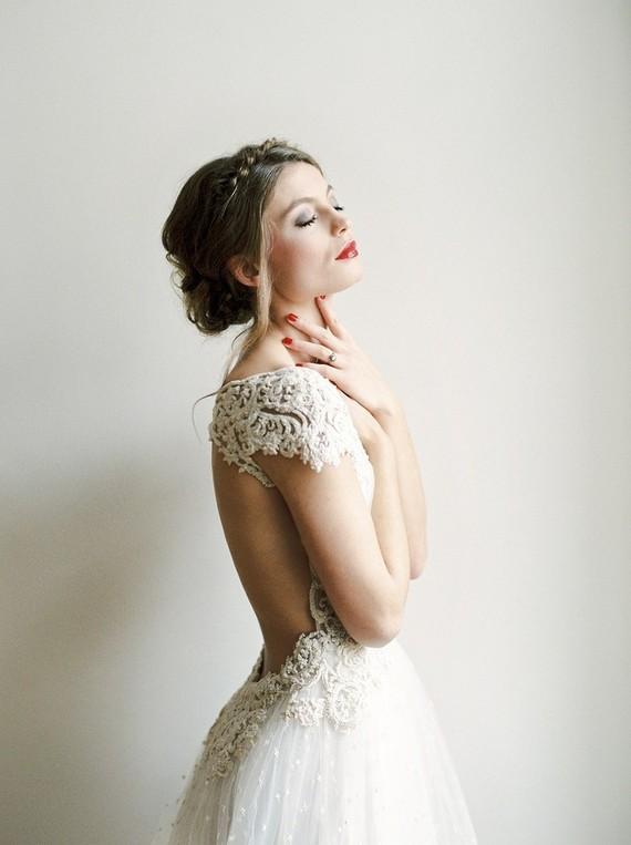 Lena Hoschek bridal gown