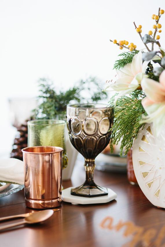 Vintage modern glassware