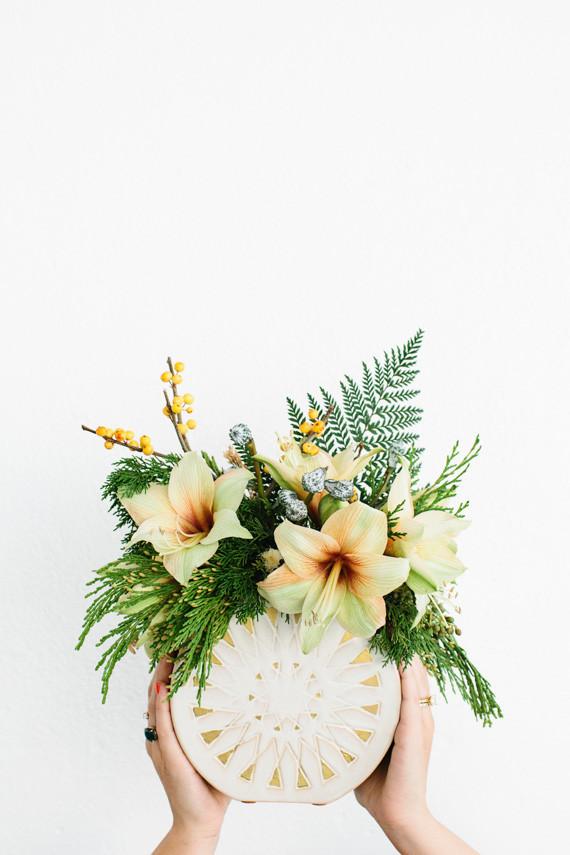 Modern winter flowers