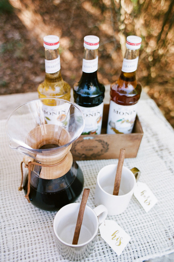 Hot cocoa cocktail