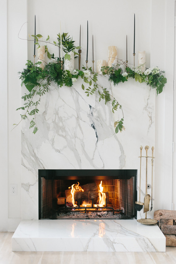 Holiday Mantel Two Ways Diy Holiday Decor 100 Layer Cake