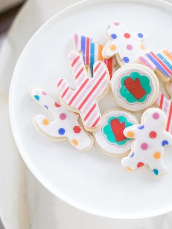 Modern sugar cookies