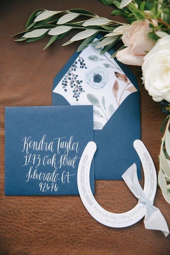 Equestrian themed wedding