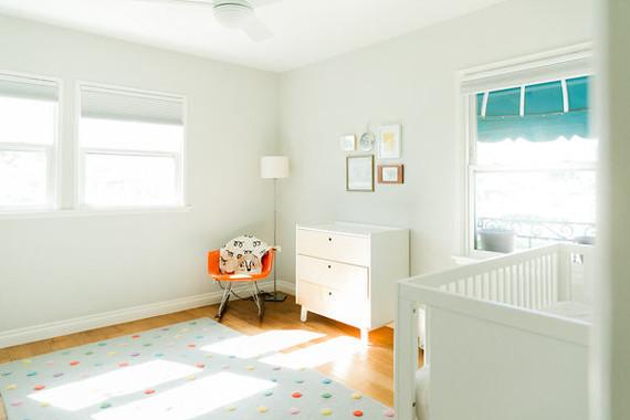 modern minimal nursery