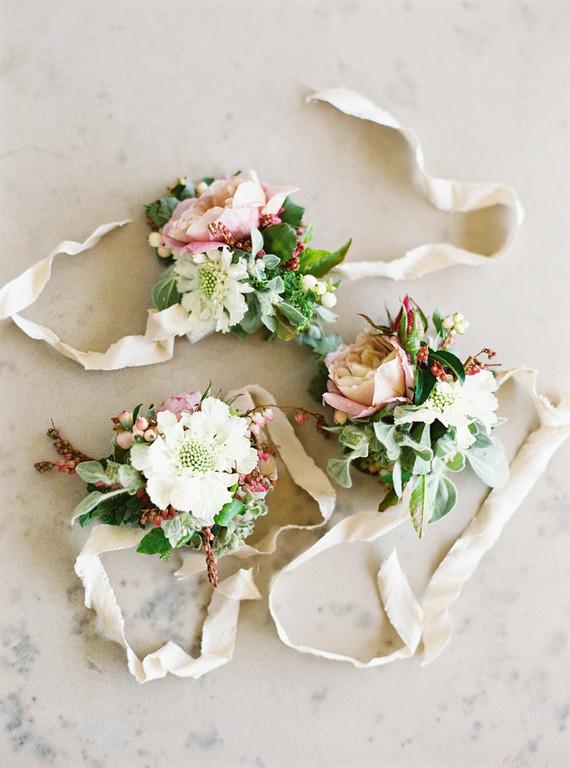Wedding corsages