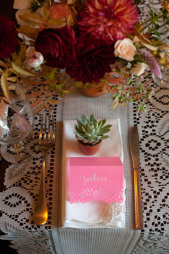 fiesta place setting