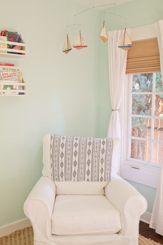 beachy nautical nursery