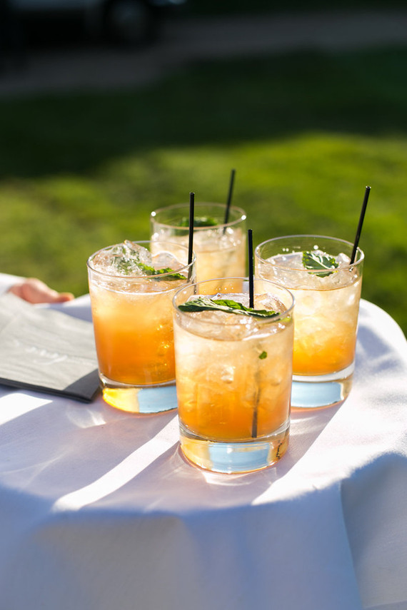 Summer wedding cocktail