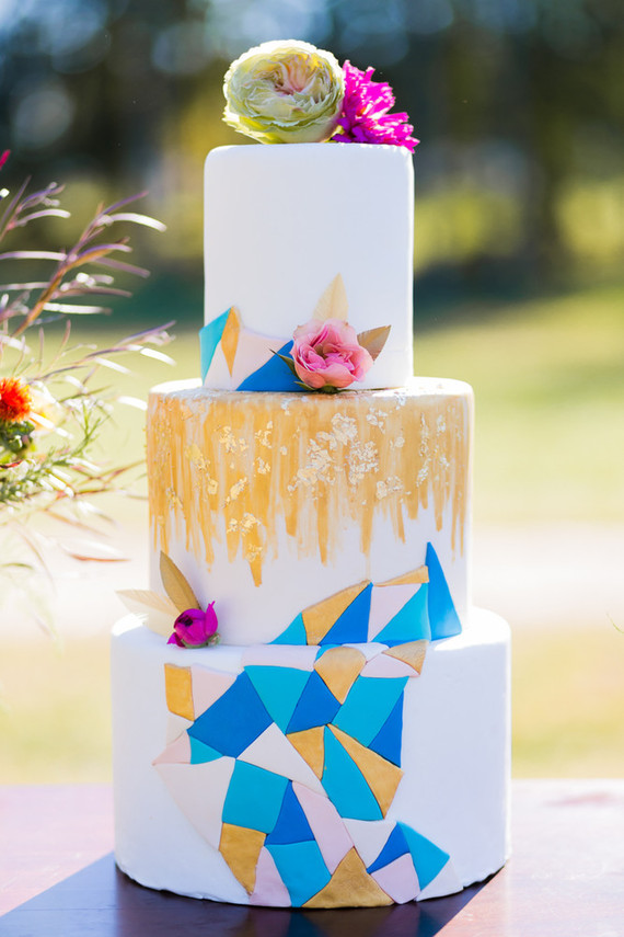 Colorful bohemian wedding inspiration | 100 Layer Cake