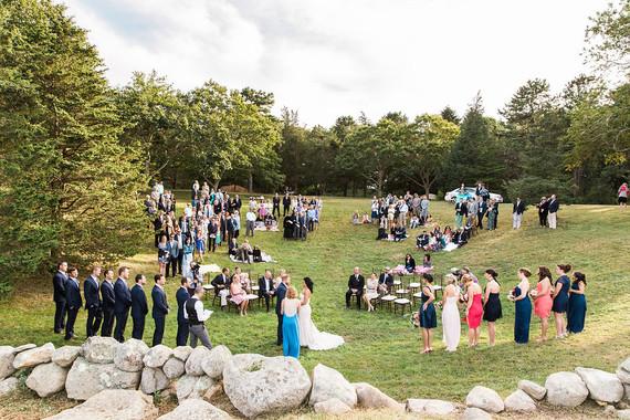Whimsical Cape Cod farm wedding