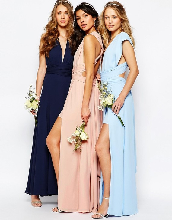Spring bridesmaid dress & accessories from ASOS - 100 Layer Cake