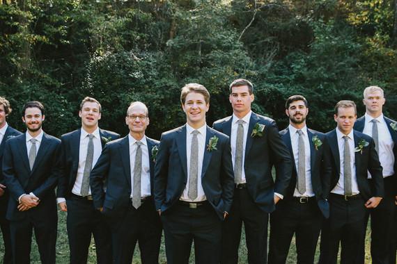 Fall southern wedding