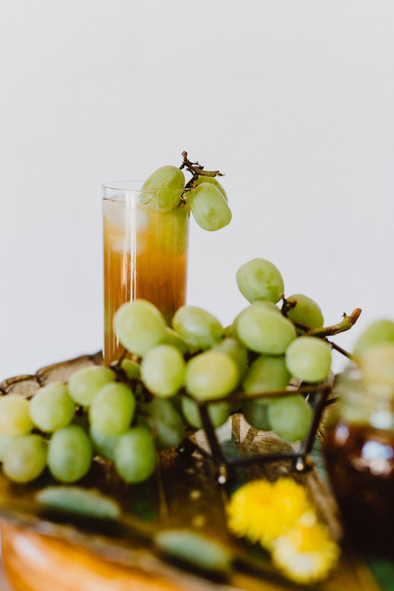 Fig & White Grape Aqua Fresca cocktails
